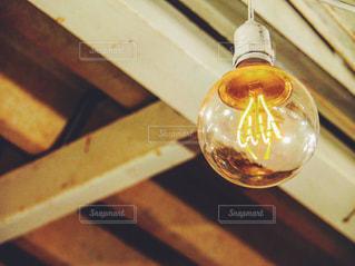 レトロ電球の写真・画像素材[1128048]