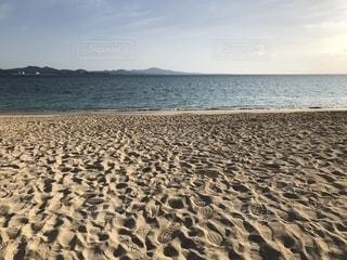 海と砂浜の表情の写真・画像素材[1124026]