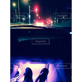 キラキラな夜のお出かけの写真・画像素材[1124518]