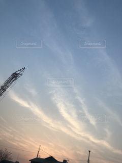 空には雲の写真・画像素材[1124520]