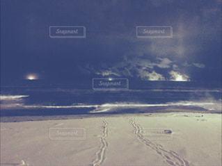 けあらし 海霧 海から湯気の写真・画像素材[1124577]