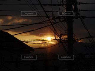 夕暮れ時の写真・画像素材[1126798]