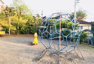 公園の遊具の写真・画像素材[1139684]