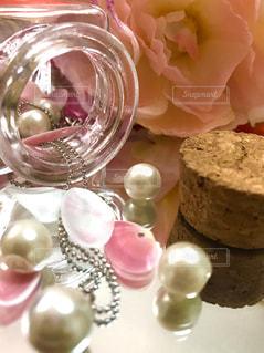 ピンクの貝殻の写真・画像素材[1131360]