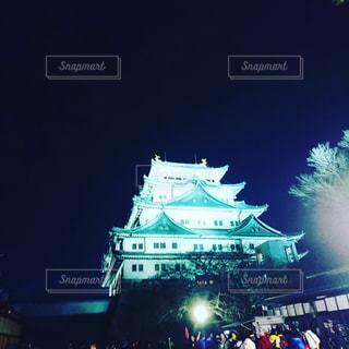 夜の大群衆の写真・画像素材[1125175]