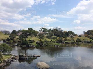 水前寺公園の写真・画像素材[2047821]