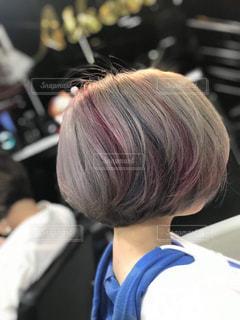 カラフルの髪色の写真・画像素材[1132378]