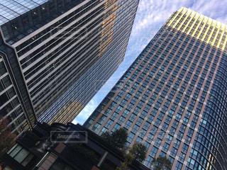 都市の高層ビルの写真・画像素材[1660929]