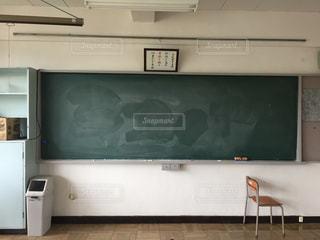 教室の黒板の写真・画像素材[1667370]