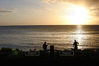 マウイ島のサンセットの写真・画像素材[1126876]