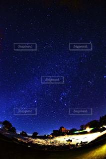 天文台の星空の写真・画像素材[1127568]