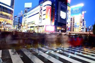 渋谷スクランブル交差点の写真・画像素材[1127588]