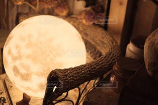 月の照明の写真・画像素材[1127950]