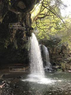 鍋ヶ滝の写真・画像素材[1131702]