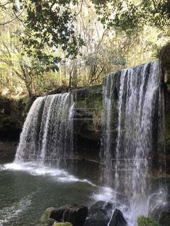 鍋ヶ滝の写真・画像素材[1131703]