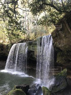 鍋ヶ滝の写真・画像素材[1131704]