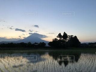 富士の鏡の写真・画像素材[2227360]