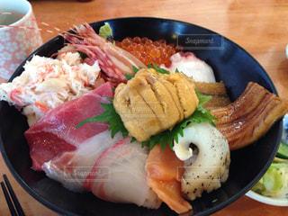 海鮮丼の写真・画像素材[1128756]