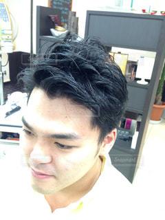 髪型の写真・画像素材[1132157]