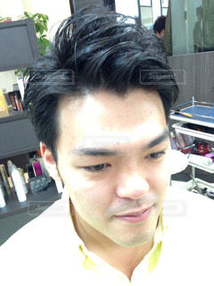 髪型の写真・画像素材[1132158]
