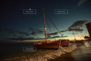 水体の大型船の写真・画像素材[1129932]