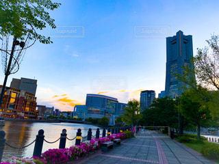横浜馬車道からの風景の写真・画像素材[2148701]