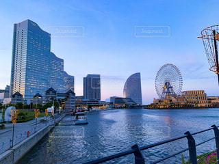 横浜馬車道からの風景の写真・画像素材[2148703]