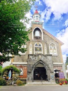 カトリック富岡教会 北海道小樽市の写真・画像素材[1129688]