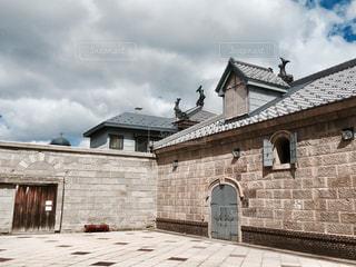 歴史的建造物の中庭 北海道小樽市運河プラザの写真・画像素材[1129953]
