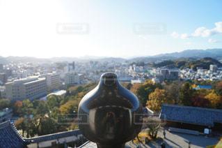 天守閣からの眺めの写真・画像素材[1134863]