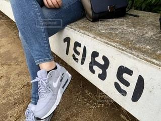 スニーカーファッションの写真・画像素材[1140975]