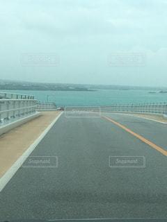 橋からの宮古ブルーの写真・画像素材[1281830]