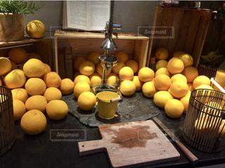 オレンジジュースの写真・画像素材[1132746]