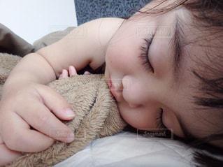 寝顔の写真・画像素材[1133220]
