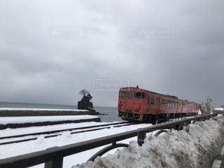 鋼のトラックの列車の写真・画像素材[1138623]