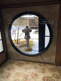 丸窓の写真・画像素材[1771355]