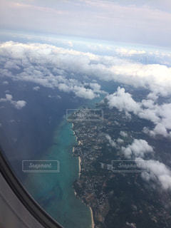 飛行機からの写真・画像素材[1132945]