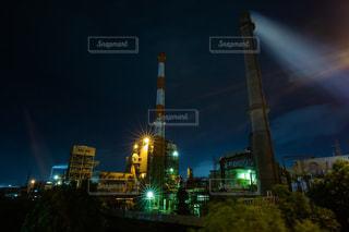 夜の街の景色の写真・画像素材[1449233]