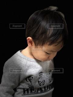 絶望する幼児の写真・画像素材[1133983]