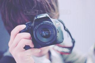 カメラ男子の写真・画像素材[1157165]