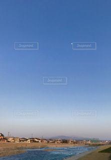 川と空の写真・画像素材[1135680]