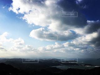 空には雲のグループ - No.1135688