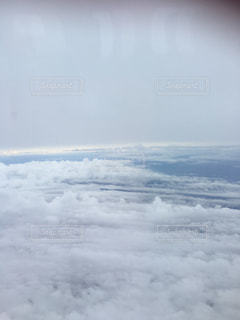 飛行機からの雲 - No.1137960