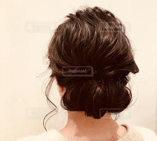まとめ髪のヘアアレンジ - No.1138010