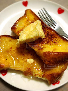 手作りフレンチトーストの朝食 - No.1138013