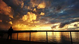 Okinawa sunset - No.1150316