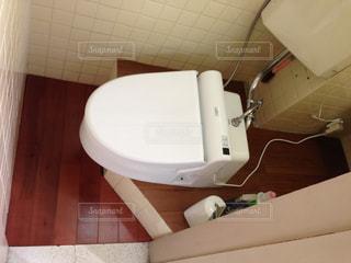 トイレのDIYリフォーム完成の写真・画像素材[1142239]