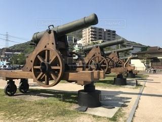 大砲の写真・画像素材[1140727]