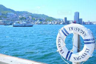 長崎の港の写真・画像素材[1161793]
