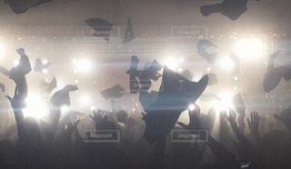 アラバキロックフェス2017での舞うタオルの写真・画像素材[1138352]